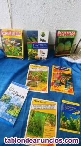 Colección libros de acuario