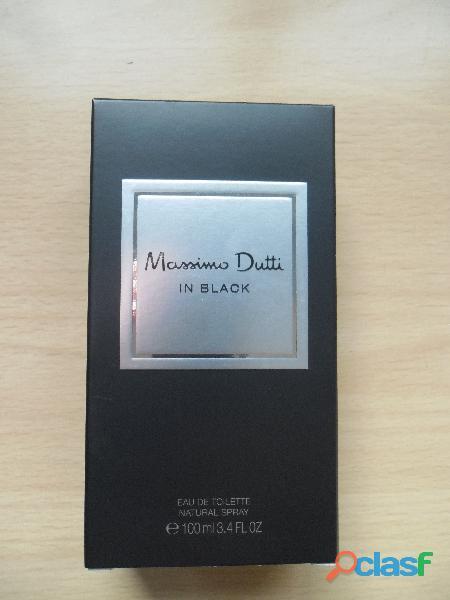 COLONIA MASSIMO DUTTI IN BLACK 100 ML EDT NUEVA SPRAY