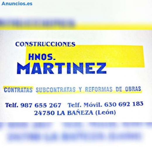 CONSTRUCCIONES MARTINEZ