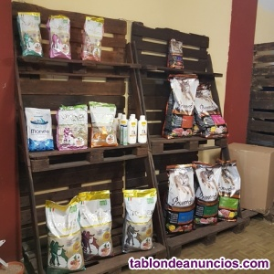 Venta estanterias muebles caja de palets