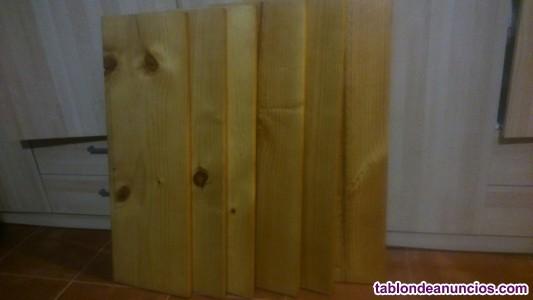 Estanterias de madera madera