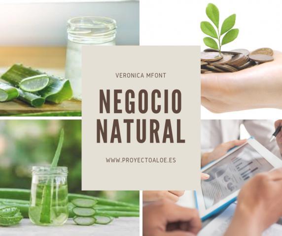 Negocio de productos naturales de Exialoe en Granada