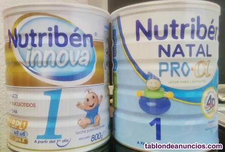 Se venden 2 tarros de nutriben