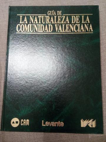 Vendo Guia de la Naturaleza de la Comunidad Valenciana