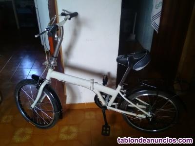 Bicicleta plegable sin estrenar