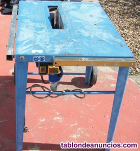 Se vende sierra de mesa de obra