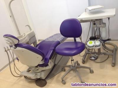 Sillon dental a-dec con mesa carrito