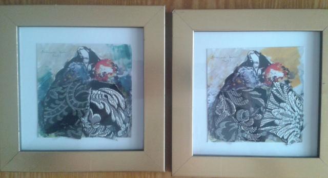 GANGA -- Vendo conjunto de 2 litografias de Armando Serra