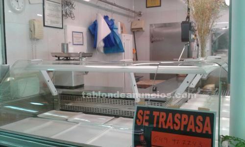 Traspaso de carnicería plaza de abastos / lugo