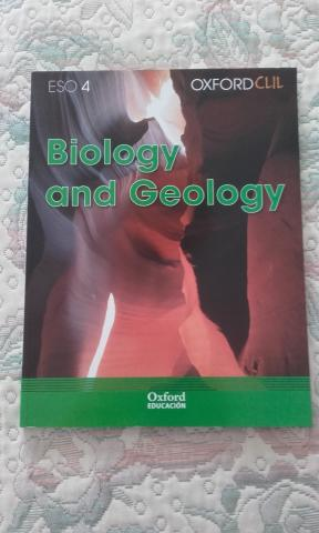 VENDO BIOLOGY AND GEOLOGY 4º ESO, NUEVA EDICION. EDITORIAL