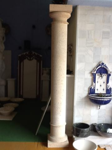 preciosas columnas de mármol