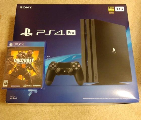 Sony PlayStation 4 pro nuevo