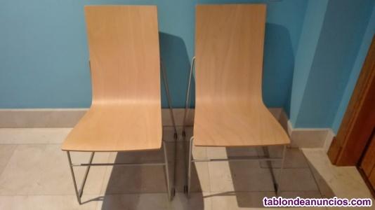 2 sillas de diseño sellex hammok