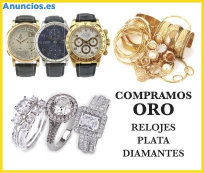 ADQUIERO ORO, RELOJES DE GAMA ALTA, PLATA, DIAMANTES