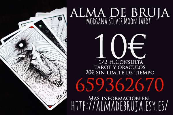 Alma de Bruja - Un Tarot humano y de confianza - Madrid