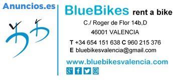 Alquiler De Bicicletas Valencia, Bike Rental Valencia,