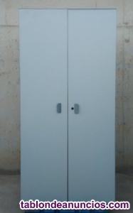 Armario de oficina gris 198cm