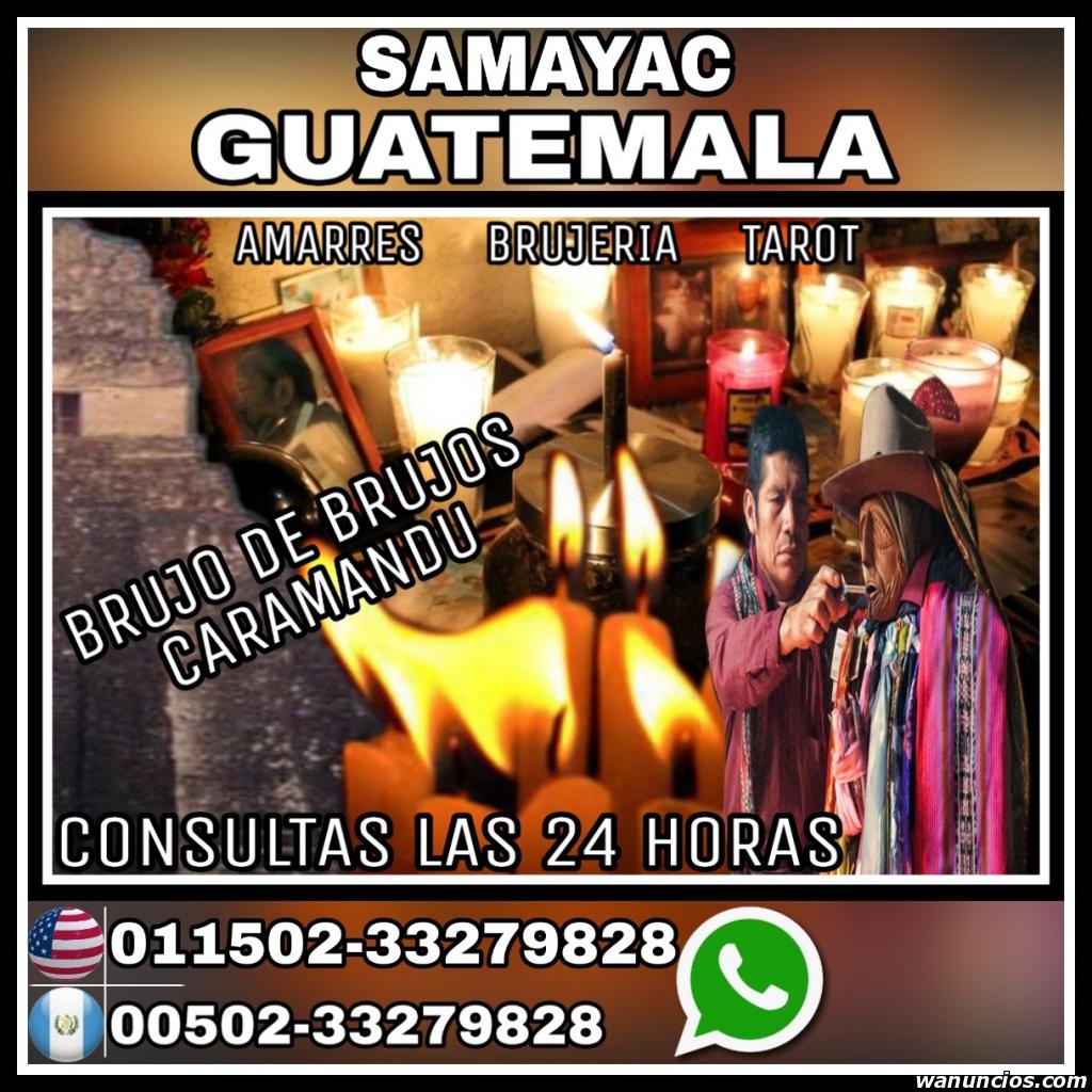CARAMANDU EL BRUJO DE SAMAYAC GUATEMALA TEL - -