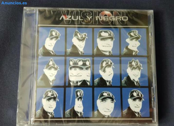 CD AZUL Y NEGRO