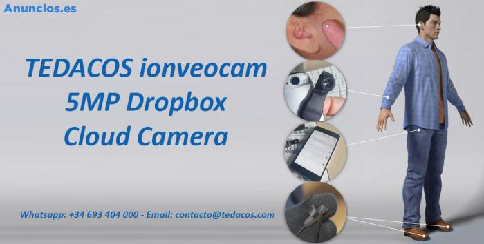 CáMara FotográFica HD EspíA BotóN Dropbox Tedacos 3G 4G