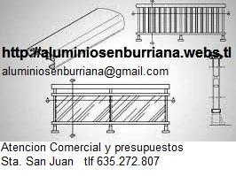 Carpinteria de aluminio, separaciones y ambientes en