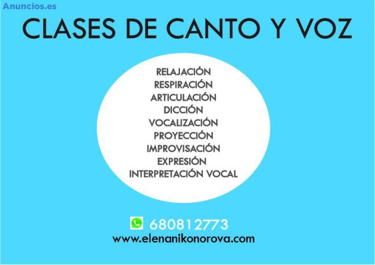 Clases De Canto Y Voz Con TéCnicas Teatrales