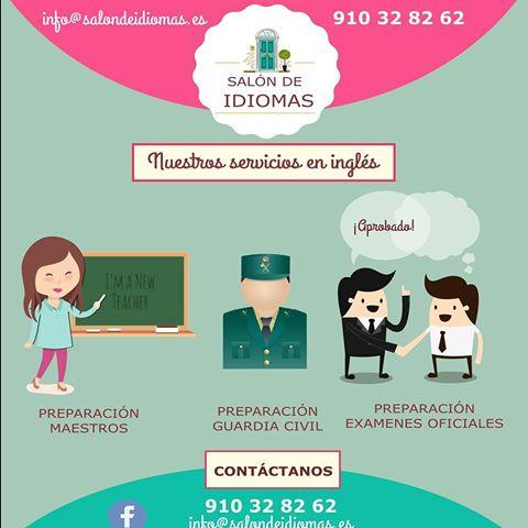 Clases particulares de IDIOMAS y APOYO ESCOLAR - Madrid