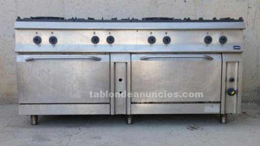 Cocina hostelería 8 fuegos lainox