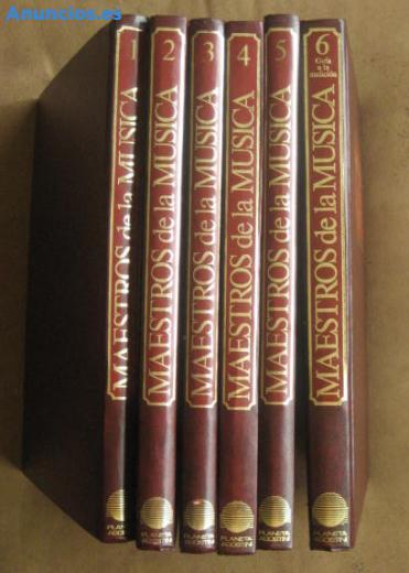Coleccion Libros Maestros De La Musica