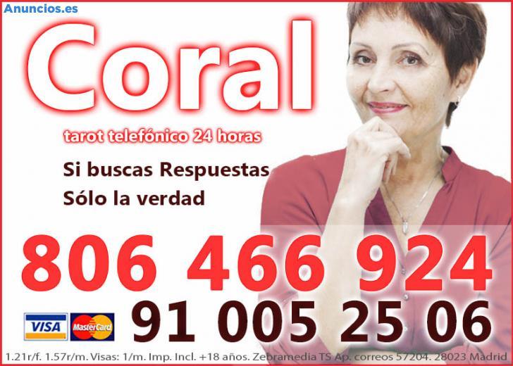Coral, Tarot Bueno Y Barato. Visa