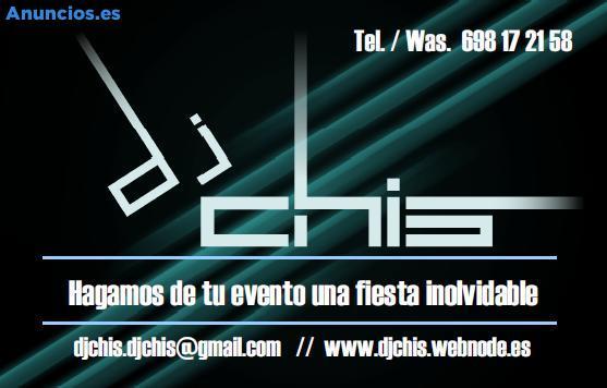 DJ PARA TODO TIPO DE EVENTOS
