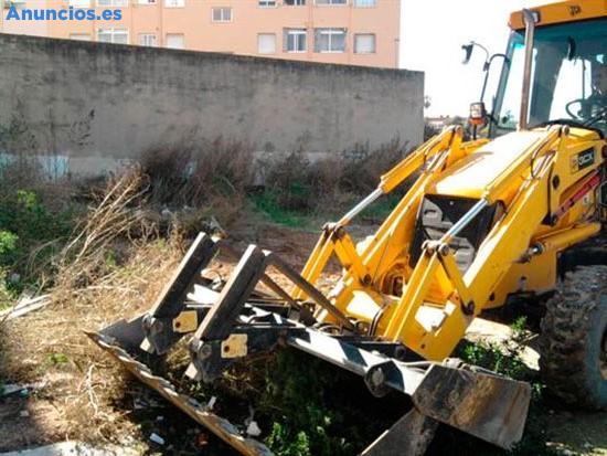 Desbroce Y Limpieza De Terrenos En Valencia