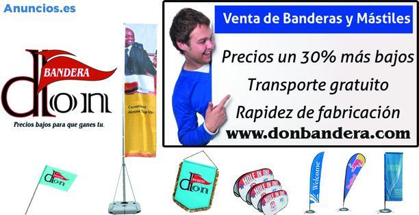 Don Bandera. Venta De Banderas Y MáStiles Para Empresas