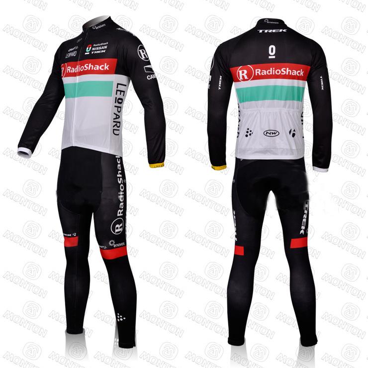 El equipo de entusiastas de la bicicleta indispensable- ropa