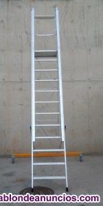 Escalera aluminio 400cm