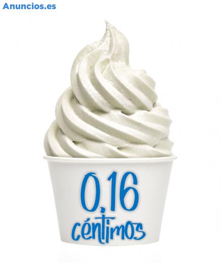 FROZEN YOGURT POR 16 CÉNTIMOS
