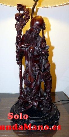 Figura antigua de madera china