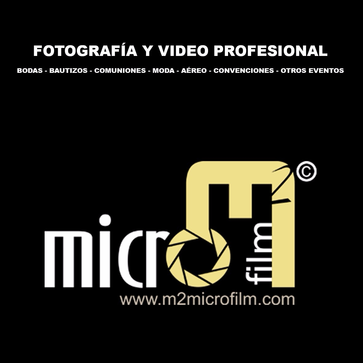 Fotografía y Vídeo profesional. - Málaga
