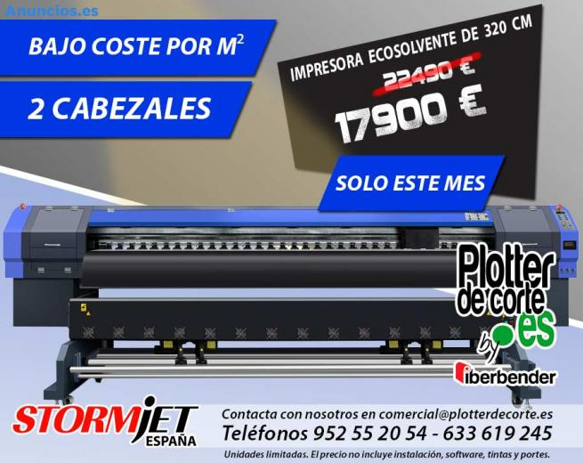 Impresora Ecosolvente De 320 Cm Plotter De Impresion