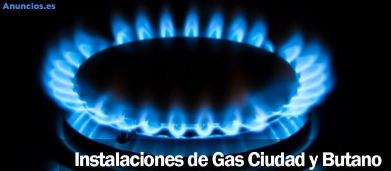 Instalaciones De Gas Ciudad Y Butano.