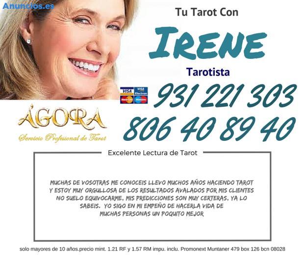 Irene Tarot Sin Errores Tarot Certero