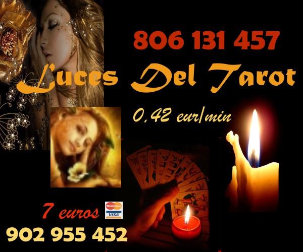 LUCES DEL TAROT MUY ECONOMICO AMOR Y VIDA MATERIAL VISA 7 15