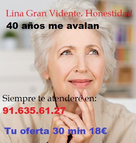 Lina Gran Vidente Oferta 20min min 18€ - Cádiz