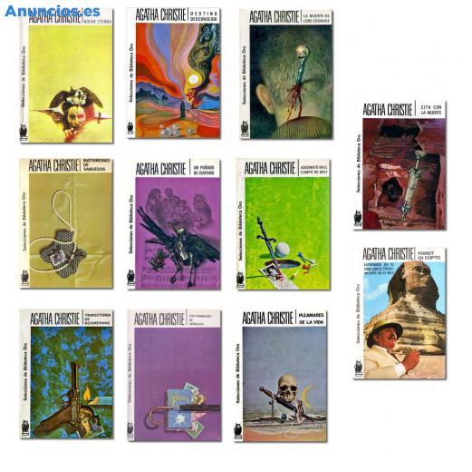 Lote 11 Libros De Agatha Christie (Editorial Molino)