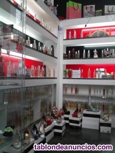 Lote de perfumes replicas de marcas en aerosol alta