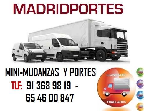 MINIMUDANZAS MUY BARATAS::) MADRID PORTES SL