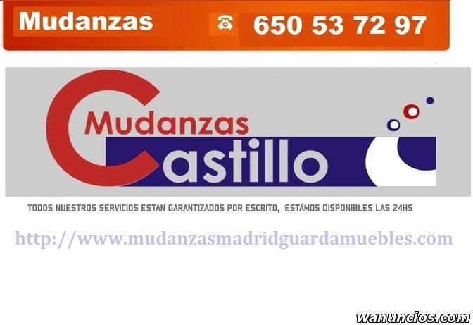 MUDANZAS MADRID CASTILLO-PORTES MADRID-PRESUPUESTOS-