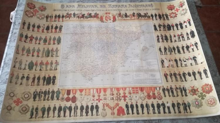 Mapa militar ilustrado de España