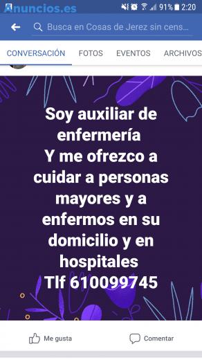 Me Ofrezco Para Cuidar A Personas Mayores Y Enfermos