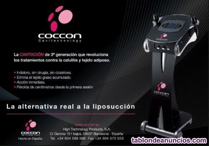Máquina de cavitación y radiofrecuencia duo-coccon
